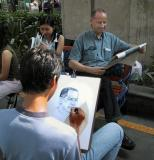 Artist and subject