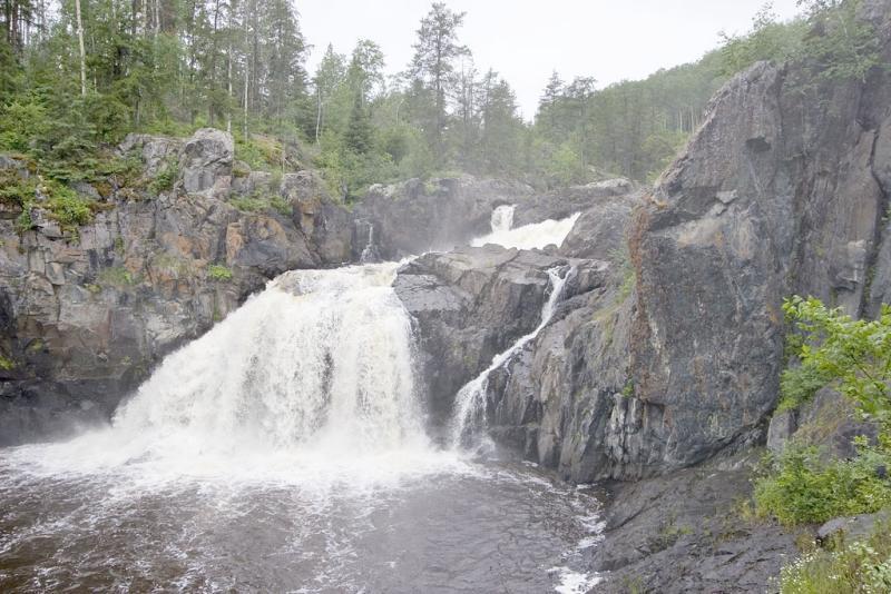 Kapkigiwan (High Falls) near Englehart