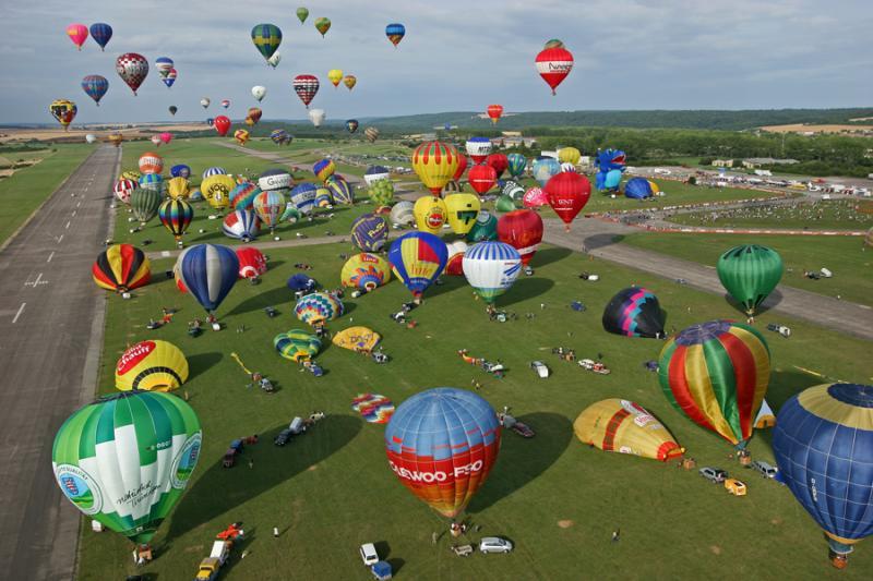 Mondial Air Ballons de Chambley - Mon 3ème vol