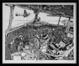 Jean-Luc Beghin - Cockpit de DAKOTA