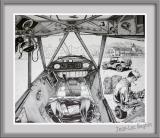 Jean-Luc Beghin - Cockpit de Piper Cub