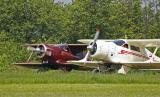 Beechcraft au décollage