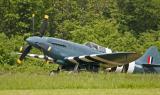 Supermarine 389 Spitfire PR19 au décollage