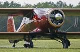 Beechcraft après l'atterrissage