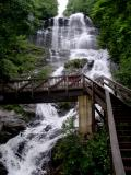 The top of Amicalola Falls