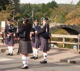 the Pipe band played some more..