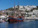 Pirate ship Poerto Rico