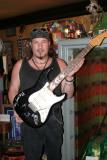 Jimmi with SRV's strat