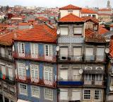 Old houses from the cathedral - Porto