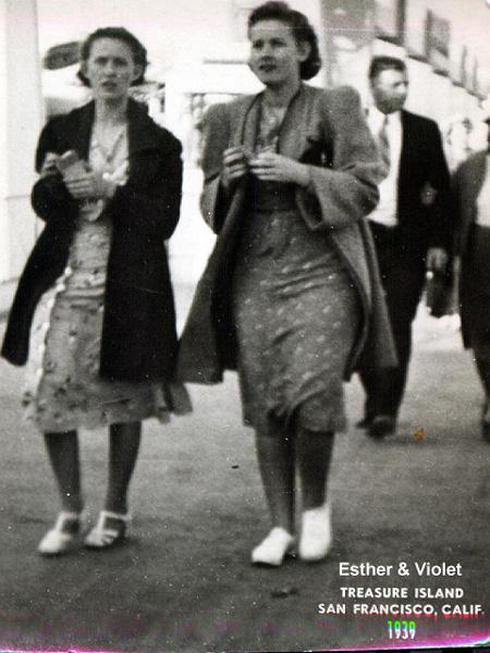 Esther , Violet Helmick