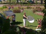 Garden PhotoshootIn Position