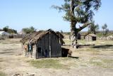 Houses near Ifaty