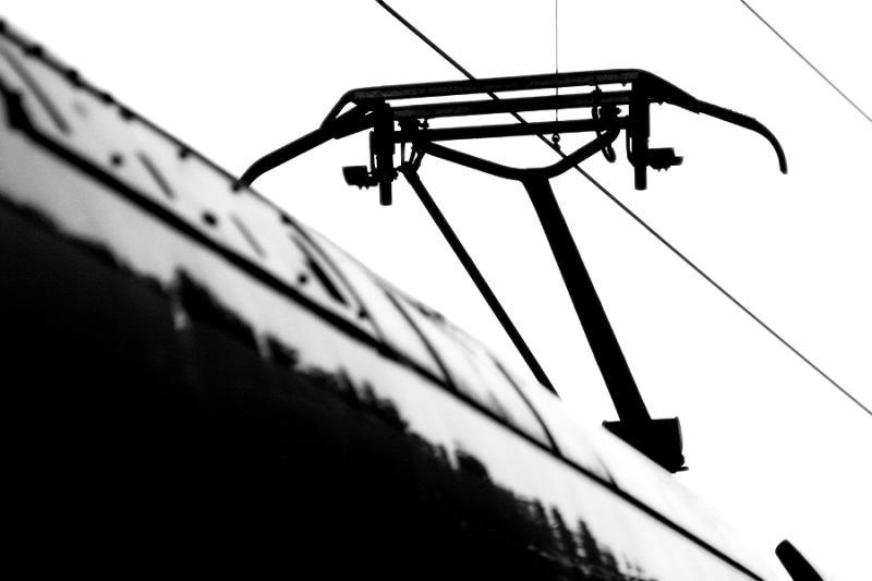 A pantograph.