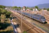 Double unity of TGV Sud-Est at Carnoules.