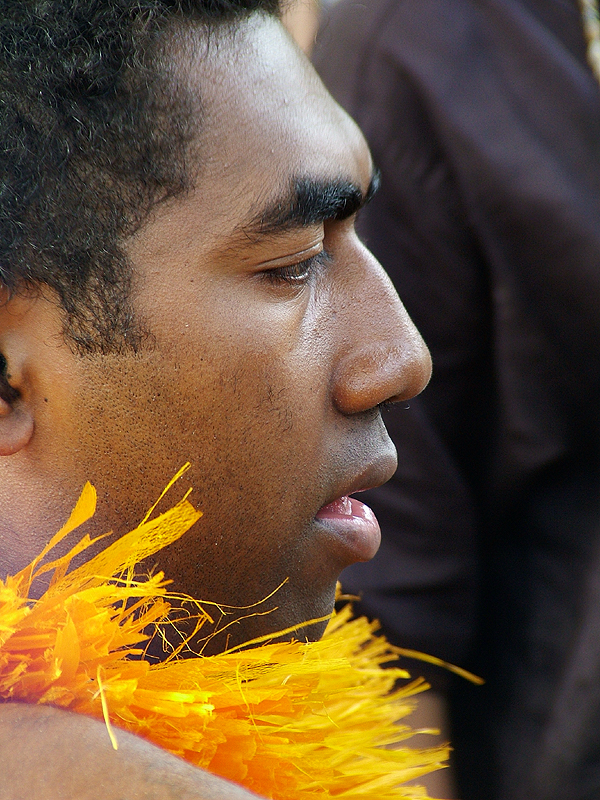 Man from Islands of Fiji