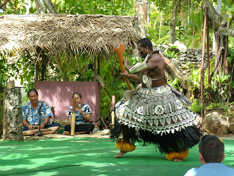Songs & Dance with Fijian Chief