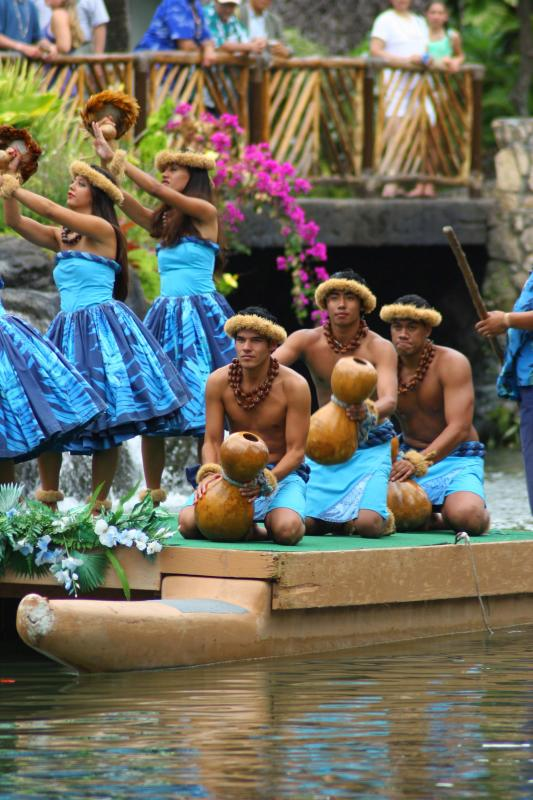 Ipu (Gourd) Boys & Hula Girls