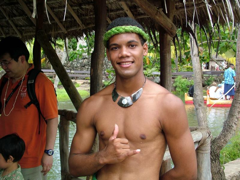 A Boy from the Islands of Tahiti
