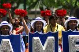 Kamehameha School Marching