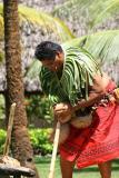 Samoan Man - No more husk.