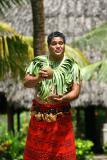 Samoan Man - Hmmm Coconut Juice.