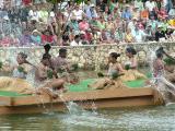 Fijians Perform at Canoe Pageant