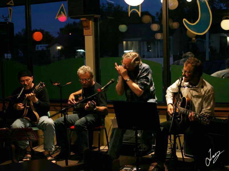 IMG_5944 Boreal Beat: Harold Wollin, Steve Poole, Barry Breckenridge, Peter Pirquet, Sept 2005