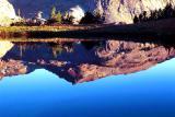 Reflection in Warm Lake