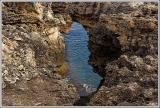 Sea through the keyhole