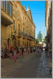 Busy Street in Ciutadella