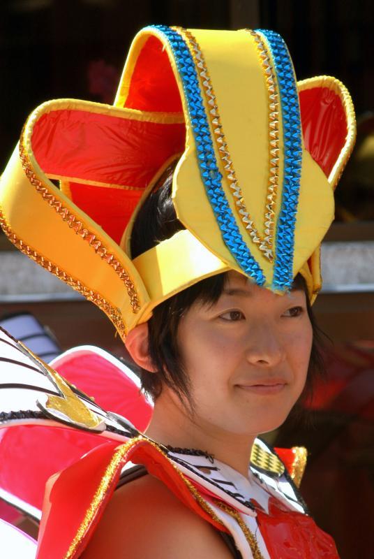 Japanese Girl - Narita Drum Festival