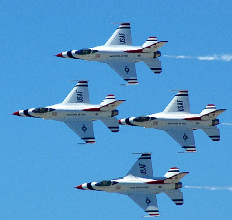 Thunderbirds over KC