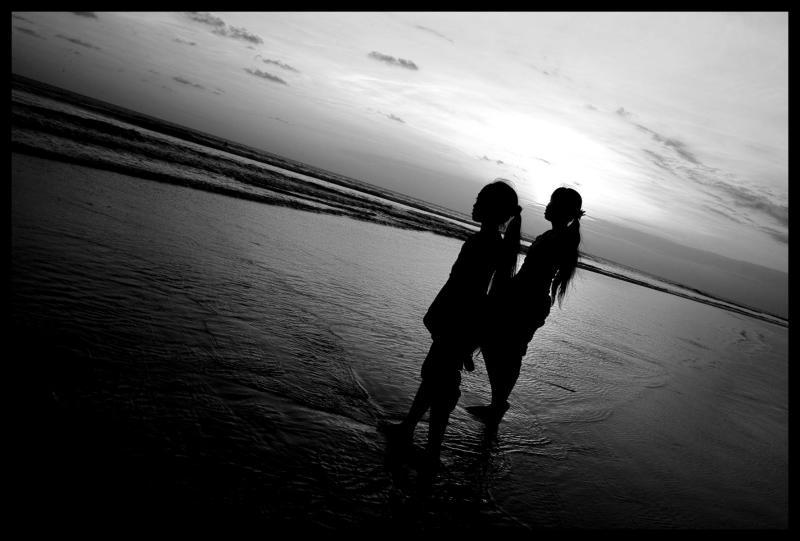 two girls at sunset.jpg