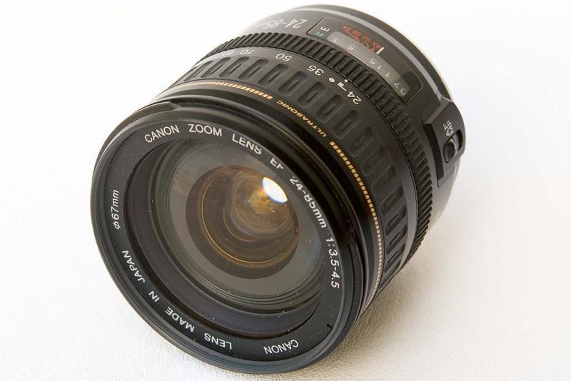 Canon Zoom Lens EF 24-85mm f/3.5-4.5 USM