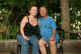 Gail and I at Disneyland Hotel