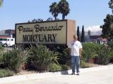 Here I am next to the Poway Bernardo sign