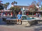 After lunch at Knott's Berry Farm