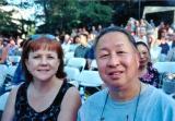 Gail and I at Adam's graduation  5/22/2003
