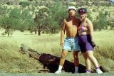 Elliot and Gail at Bidwell Park, Chico, California  1993