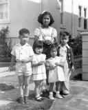 Noel, Donna, Stephanie?, Jeannette, and me August 19, 1951