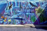Virginia Beach wall mural, approx 1987