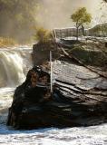 Morning waterfalls