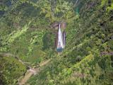 Jurassic Park Falls_From Helicopter