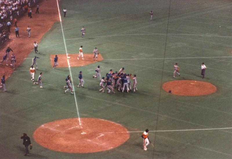 Astros-Mets 16 inning NLCS Game 6 - 1986