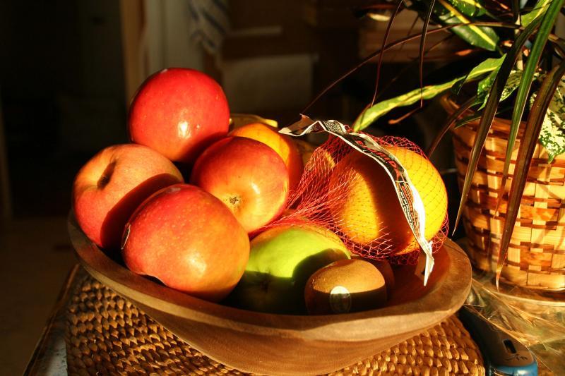 Fruit Morning light