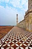Taj minaret