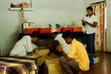 Volunteers behind the scenes.......