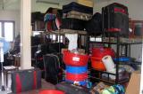 Medical supplies in storage