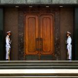 Guarding Ho Chih Minh