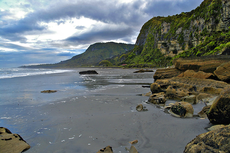West Coast Beaches - near Punakaiki